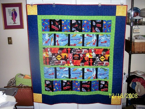 Gage's Action Quilt