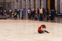 Courtyard (sillie_R) Tags: courtyard mosque syria damascus umayyad