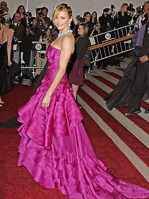 Cameron Diaz vestido de gala