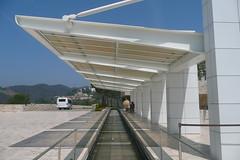 tram stop (emiya) Tags: la gettycenter meier