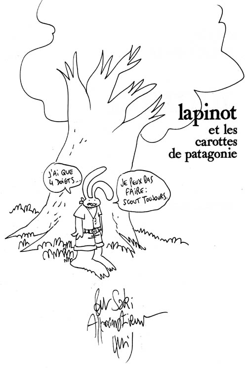 Trondheim - Lapinot et les carottes de Patagonie - Montpellier 2007