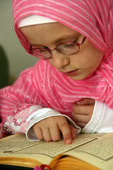 Quranic kid (mehmetakifguler) Tags: people girl kids scarf turkey veiled muslim headscarf hijab muslimah recite modesty quran koran kuran barts earp muslimkid