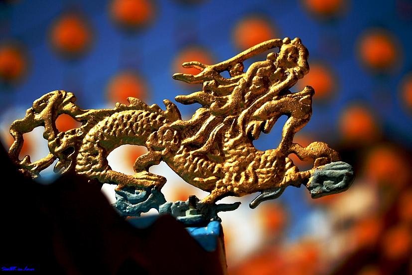 Dragon @ Thean Hou Temple, KL ,Malaysia