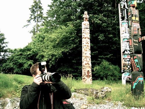 Duane w/the Totem Poles