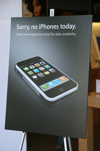 Sorry, no iPhones today