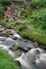 River with rocks 1 (MBragg) Tags: york longexposure white motion blur water river michael moving long exposure yorkshire north smooth filter nd bragg liquid density neutral osmotherly