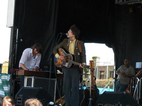 Elvis Perkins, Siren Festival, Coney Island NYC, 21 July 07