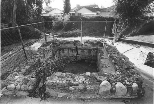 Mission Wells and the Settling Basin