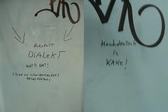 Dialekt vs. Hochdeutsch