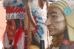 (ONE/MILLION) Tags: wood arizona statue beads colorful native feathers sedona roadtrip americans indians carvings headdress onemillion