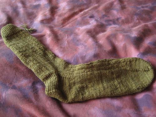 olive sock