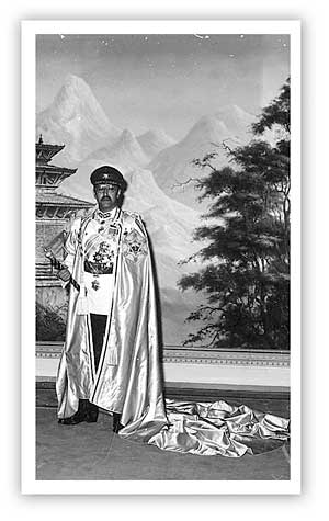 King Birendra by Dwarika Das Shrestha