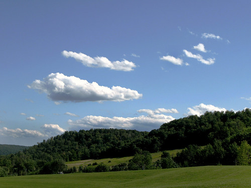 Clouds over Cherry Valley by Keturah Stickann