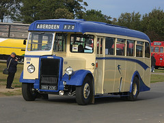Alexander Leyland Tiger PS1/Alexander C35F BMS 206 (PA44) (likrwy) Tags: bus classic tiger rally bms aberdeen duxford bluebird alexander midland 1947 leyland 208 showbus halfcab bms206