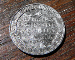 Cracker Jack Coin back