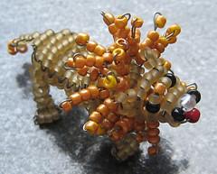 León. (naiarais) Tags: animal handmade leon artesania manualidades abalorios hechoamano bolitas animalessalvajes hechopornaiara animalesdebolitas