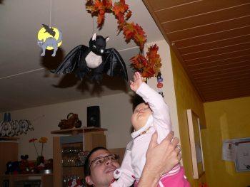 mit Fledermaus