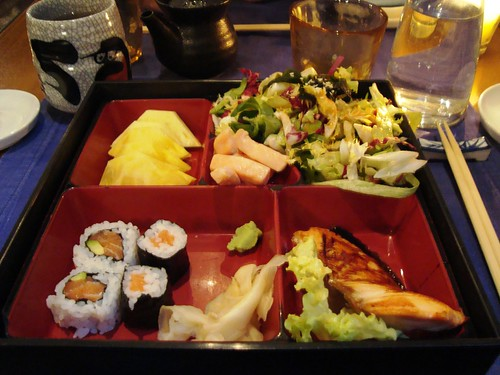 Bento box @ Japanese restaurant