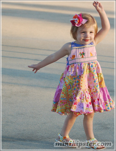 Gracie. MiniHipster.com: children's childrens clothing trends, kids street fashion, kidswear lookbook