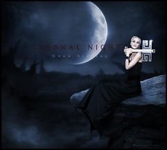 BLEND- ETERNAL NIGHT - Gwen Stefani (balt-arts) Tags: moon mountain night forest dark eclipse key fantasy gwen stefani baltasar vischi