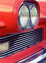 50's (autoidiodyssey) Tags: coral edsel headlights 50s pacer