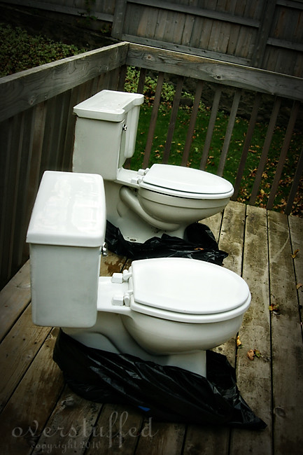 toilets on deck