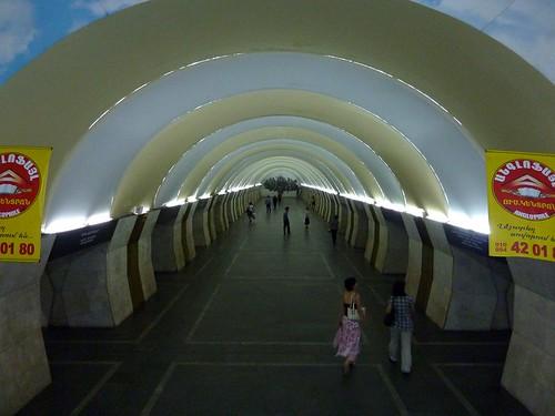 Yeritasardakan Subway Station in Yerevan