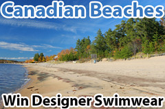 Canadian Beaches Lenzr Photo Contest - win designer swimwear