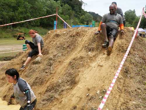 Genting Trailblazer 2010 - Down the obstacle slopes