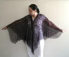rose trellis shawl 8