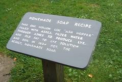 Soap recipe (Nancy Rose) Tags: appalachia blueridgemountains rurallife vanishingbeauty