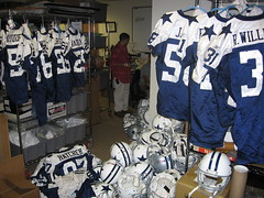 Dallas Cowboys Game Used Gear