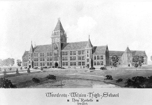 The ghost of new rochelle high school james betelle where are you woodrow wilson was the original name for the school but a scandal erupted in 1926 when it was rejected by a new school board which favored calling it new malvernweather Choice Image