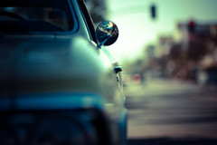 mirror (jaxting) Tags: street door city blur car mirror colours dof bokeh candid autmobile jaxting