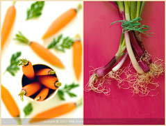 Orange and Pink Together (La tartine gourmande) Tags: vegetables fun sage carrots savory glazed latartinegourmande excellentphotographerawards redscallions