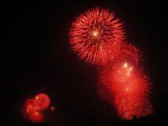 Fireworks on Both Sides of the Bay (agrude) Tags: sanfrancisco marina fireworks fortmason 4thofjuly