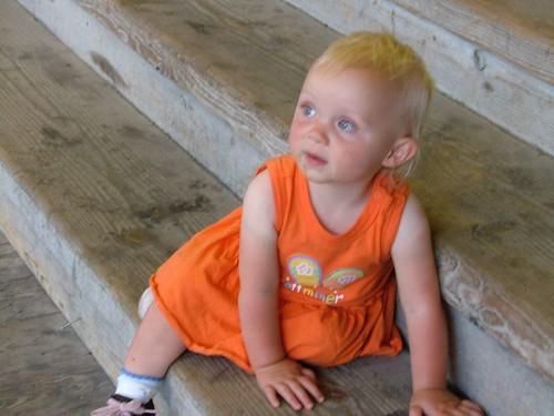 黃髮小女孩