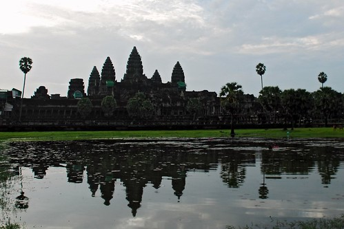 Angkor Wat Reflection Cliche