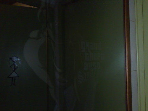 GTA en un espejo
