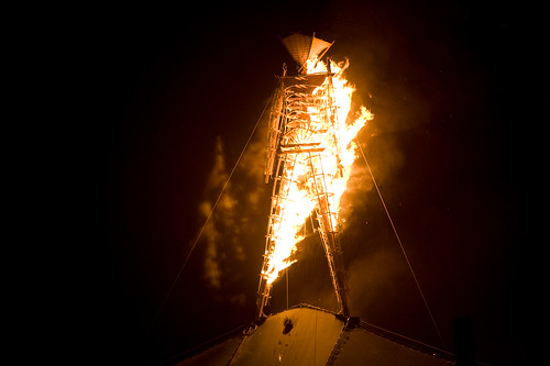 Burning Man Set on Fire Early Due To Arson