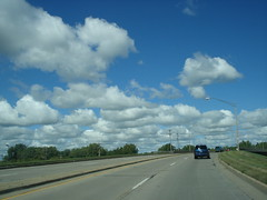Pretty clouds distract me as I drive by merebearlandon