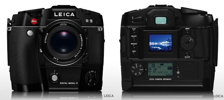 Leica R9 Modul R film-digital hybrid SLR