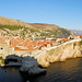 Dubrovnik City from St Lawrence Fort