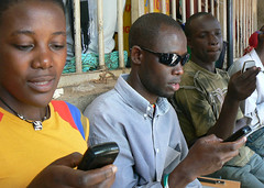kiwanja_uganda_texting_2 (kiwanja) Tags: africa mobilephones sms phones developingcountries cellphones textmessaging texting handsets