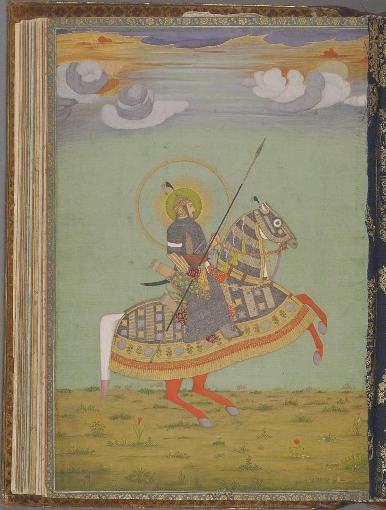 Muhammed Shah fol. 27v