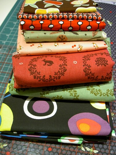 Fabric for takeaway sacks