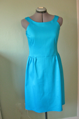 Trq pique dress front