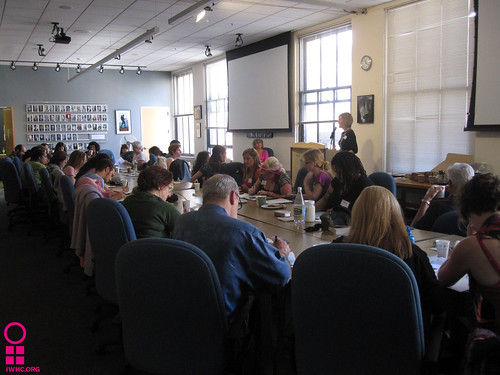 Advocacy training hosted by IWHC and the Sierra Club in San Francisco