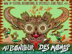 Affiche Festival Au Bonheur des Momes-2005