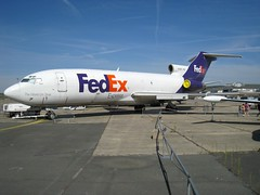 N166FE then actively whitnessed the days when Federal Express became Fedex, just Fedex along with squadrons of fellow T-tailed Tigeresses (AlainDurand) Tags: france bud boeing airlines fedex 93 iledefrance lbg airliners 727 federalexpress boeing727 jetliners 727100 seinestdenis theworldontime muséedelairetdelespace lfpb boeing727100 cn227 n166fe parislebourget 72722f airlinesoftheworld alaindurand régioncapitale airspacemuseums preservedaircrafts airlinesoftheunitedstates greaterparisregionalarea msn18863